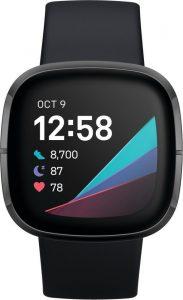 Fitbit Sense - Smartwatch - Zwart
