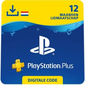 PlayStation Plus 12 maanden Aanbieding