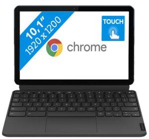 Beste Chromebook- Lenovo IdeaPad Duet Chromebook Tablet 128GB- ZA6F0004NL